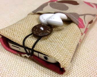Handmade Simple style of Korean iPhone case, iPhone sleeve, iPhone pouch, iPod touch case, Kindle case, Padded,smart cellphone cover
