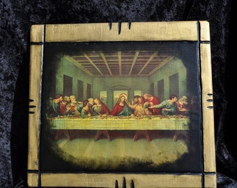 Last Supper Icon, Unique Religious Art and Gifts for Your Special Ones