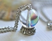 Harry Potter Divination Crystal Ball Necklace