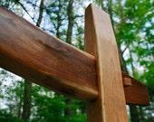 Timber Frame Garden Arch