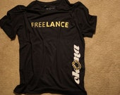 FREELANCE t-shirt from OKONA Apparel supporting Lance Armstrong
