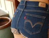 SALE: Sunflower High Waisted Shorts