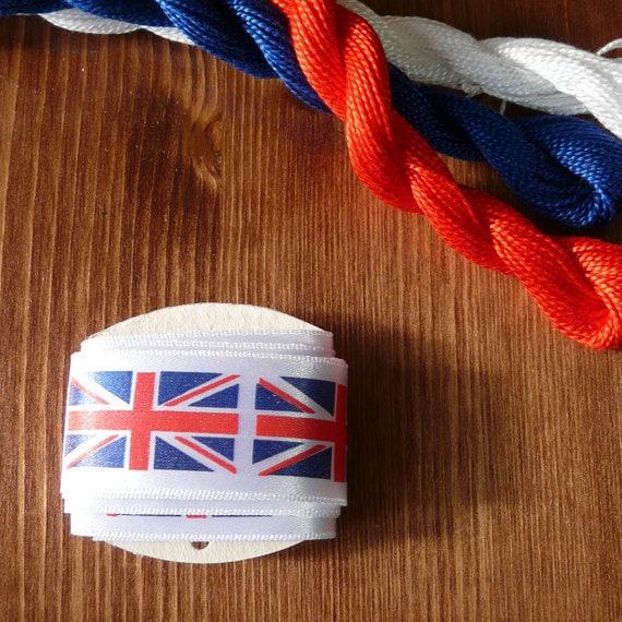 SALE // Union Jack Ribbon 1 metre (1.09 yards)