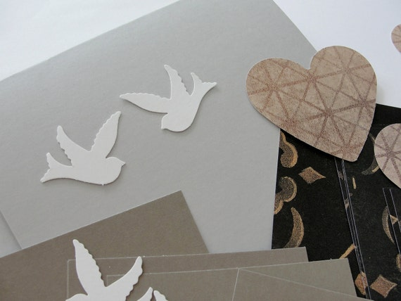 Make Your Own Wedding Card Kit Wedding Doves And By