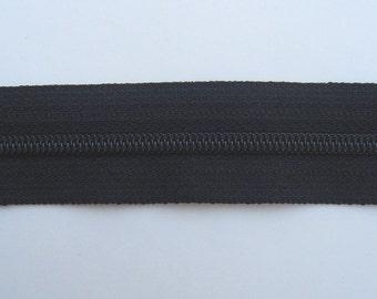 Zippers - Black - YKK Zippers - 10 Pieces - 8 inch
