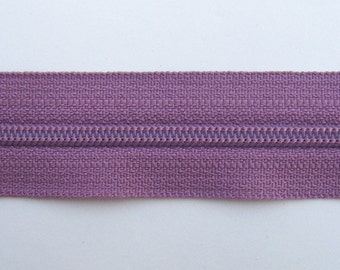 Zippers - Lilac - YKK Zippers - 10 Pieces - 7 inch