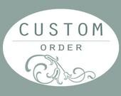 Custom order for Dolly Haardt