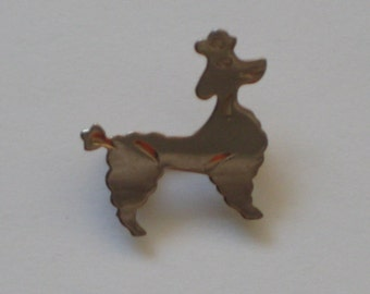 Vintage Poodle Pin