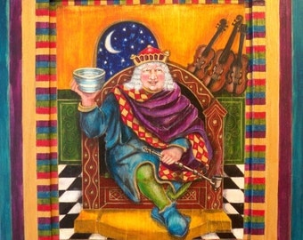 WALL ART - Old King Cole
