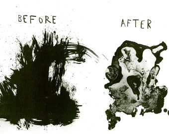 Before the After / Original Lithograph
