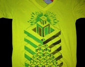 The Temple - Glow in the dark T- Shirt - Medium