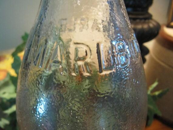 Super Awesome Vintage Marlboro Soda Bottle By Vintagedelight374