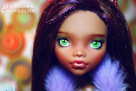 OOAK  Monster High Clawdeen Wolf Custom Doll