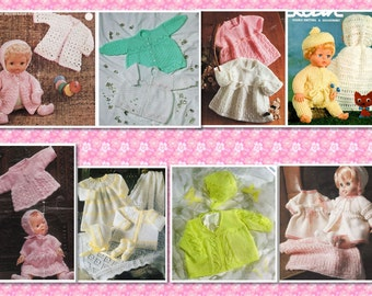 45 plus Prem, Babies and Doll CROCHET & KNITTING Patterns