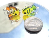 Colorful Baby Koi - Cutefish Charms Miniature Polymer Clay Earrings
