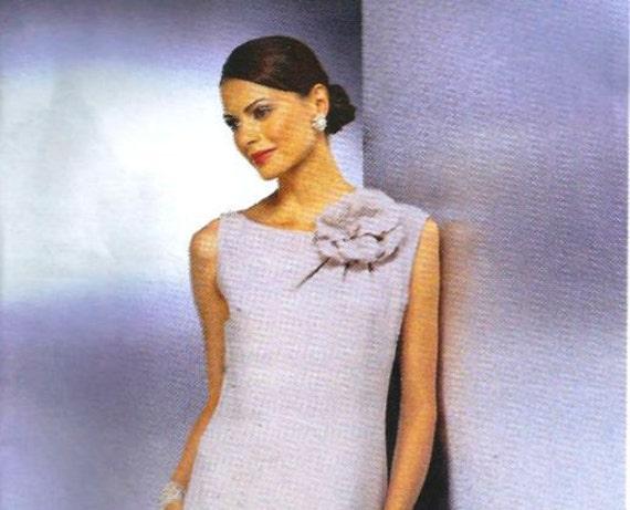 Vogue  Dress Pattern 2368 Guy Laroche RARE UNCUT  Sizes 8, 10, 12 FREE shipping