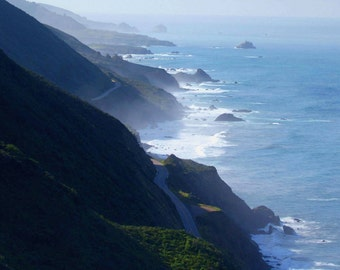Highway One - Big Sur, California Photo Greeting Card