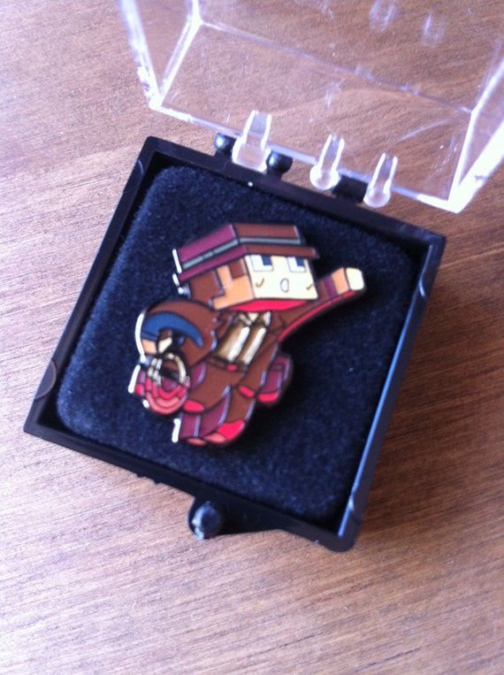 DaveChaos Enamel Pin Badge