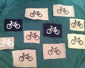 1 Crust punk bicycle patch