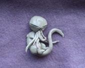 OOAK Newborn Cthulhu Sculpture