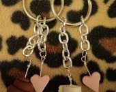 Poo and Toilet Paper BFF Keychain Set