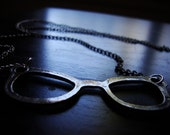 Nerdy Glasses - Chic - Stylish - Geekery - Fun - Reading Glasses necklace
