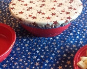 Homemade Potluck Casserole Dish Covers Bowl Cover Keeps To Go Food Safe and Stylish