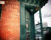 corner rowhouse  fine art photo print (other sizes available)