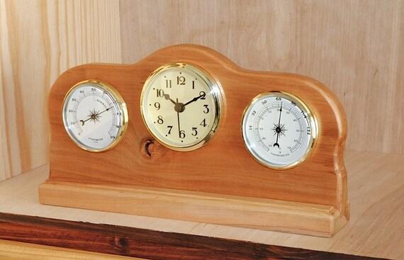 Cherry clock / weather station