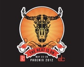 The Heat Is On SNAG 2012 Conference T-Shirt Size: MEDIUM