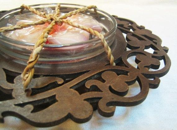 Thai modern candle Leela refill design