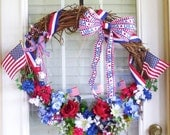 Fourth of July Wreath- Large 24""