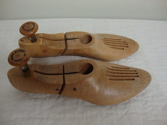 French Shriner & Urner Wooden Shoe Stretchers