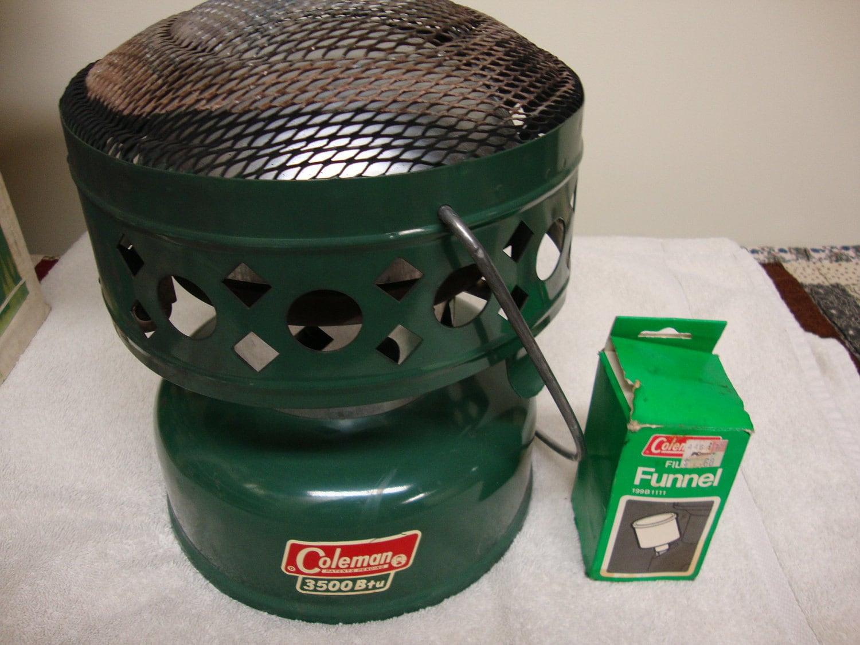 Coleman 3500 Btu Catalytic Heater 1972