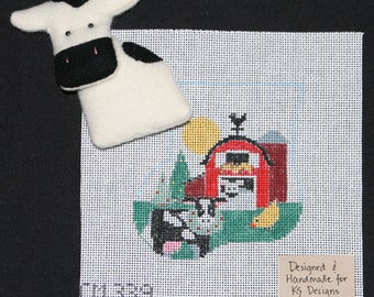 Stocking Ornament Kit with Toy - Cow CM339