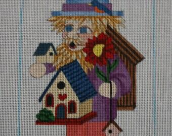 Scarecrow with Birdhouses