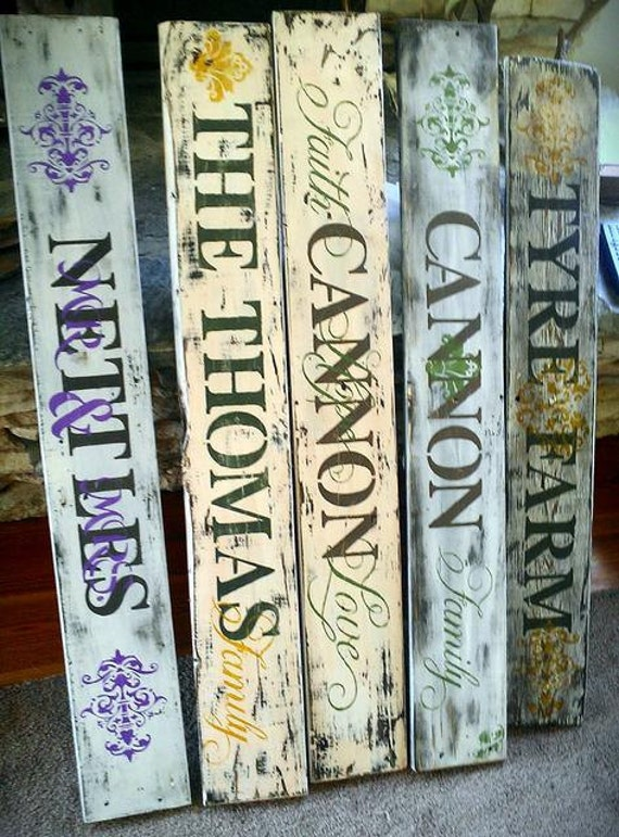 Personalized Custom Rustic Family Handmade Signs Great Gifts Wedding