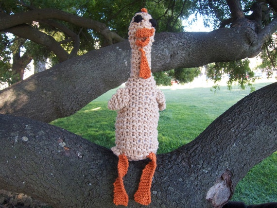 Knit Rubber Chicken