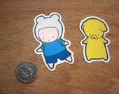 Adventure Time Stickers - Set of 15