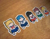 Sailor Moon Stickers - Set of 15