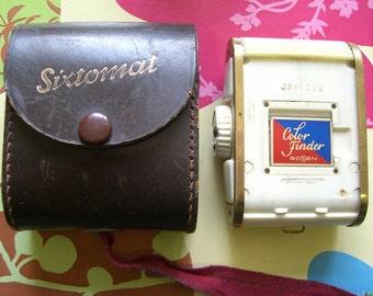 Sixtomat light meter - 1950's