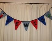 Personalised Handmade Bunting ... weddings, parties, playroom, nursery, engagement, anniversary ...