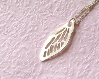Butterfly Wing Charm Necklace
