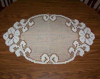 "8)  ""CAMPION""  handmade crochet doilies"