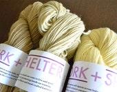Tea Dyed, 100% Wool Yarn - Three Colors - 100g Skeins