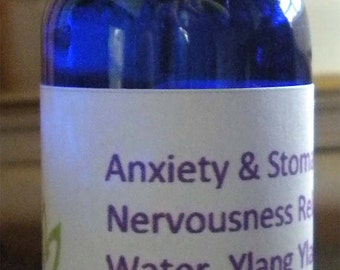 Anxiety & Stomach Nervousness Relief- Essential Oil Blends