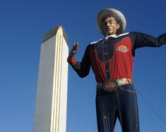 Big Tex.  Dallas, TX 8x10