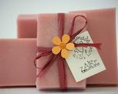 Goat Milk Soap: Pomegranate