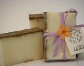 Goat Milk Soap: Chamomile & Lavender