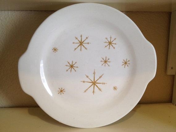 Vintage Star Glow serving dish by Royal China ,Atomic, retro